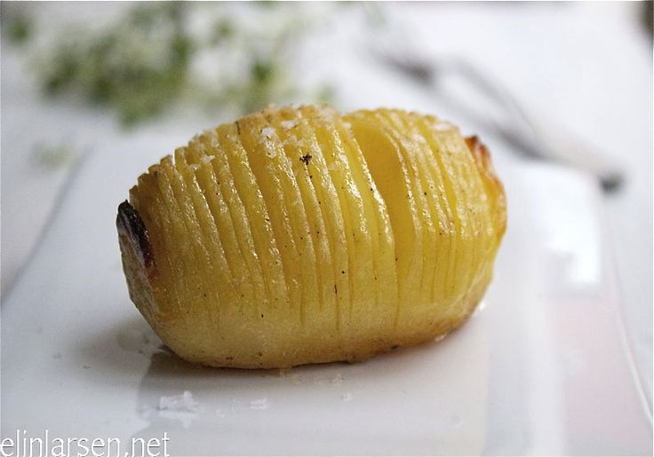 Hasselback-poteter