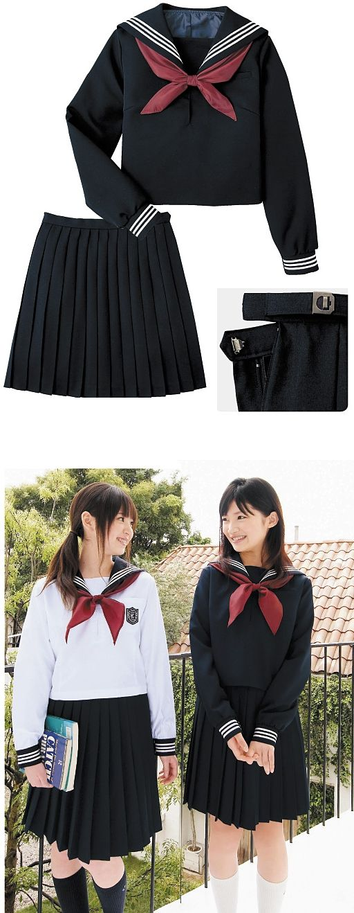 Japanese school girl uniforms