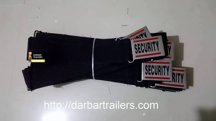 Security Guard Belt Supplier Darbar Trailers  Security Belt Supplier In Ahemdabad Baroda Bengaluru Bhopal Bhubaneswar Chandigarh Chennai Cochin Dehradun Hyderabad Jaipur Kolkata Mumbai New Delhi Darbar Trailers Manufacturer And Supplier of Security Uniform and Accessories Also Police Home Guard Corporate Uniform Articles Safety Shoes Belts Caps Labels And More Accessories Supplier. Darbar Trailers Security And Police uniforms Kishorsinh Darbar - http://ift.tt/29uEBfK Phone No : 8128262243…