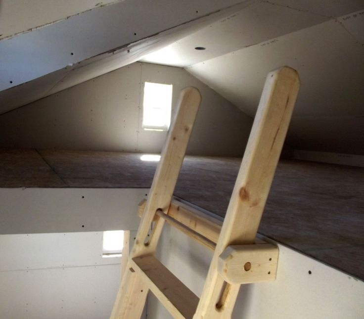 Attic Stairs Pull Down Bedrooms
