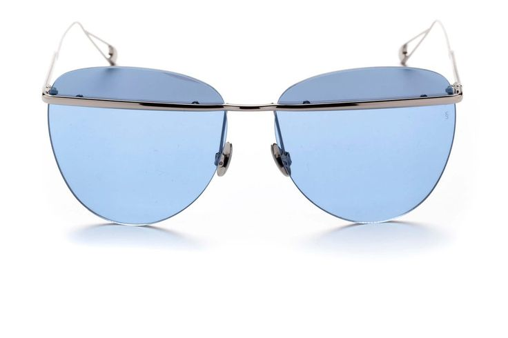 TALLULAH Sky Blue aviator style sunglasses from SUNDAY SOMEWHERE