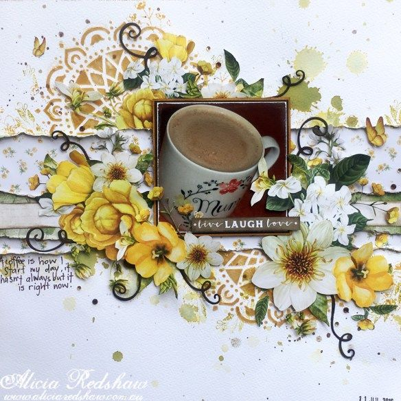 Scrapbooking Class – Kaisercraft Golden Grove | Scrapbook Fantasies Blog