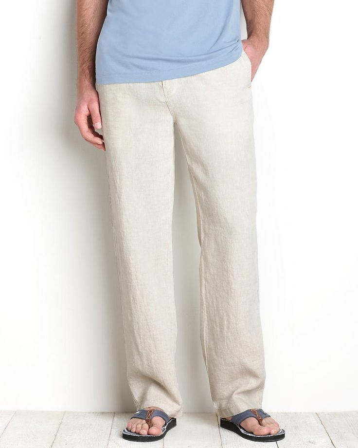 Linen pants. Because they're linen. $98