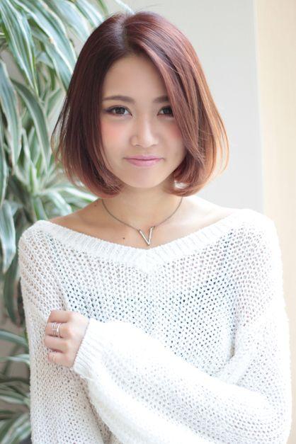 小顔スウィートボブ | 東京都・銀座の美容室 AFLOAT JAPANのヘアスタイル | Rasysa(らしさ)