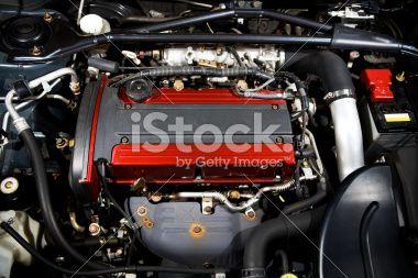 Engine Bay Royalty Free Stock Photo