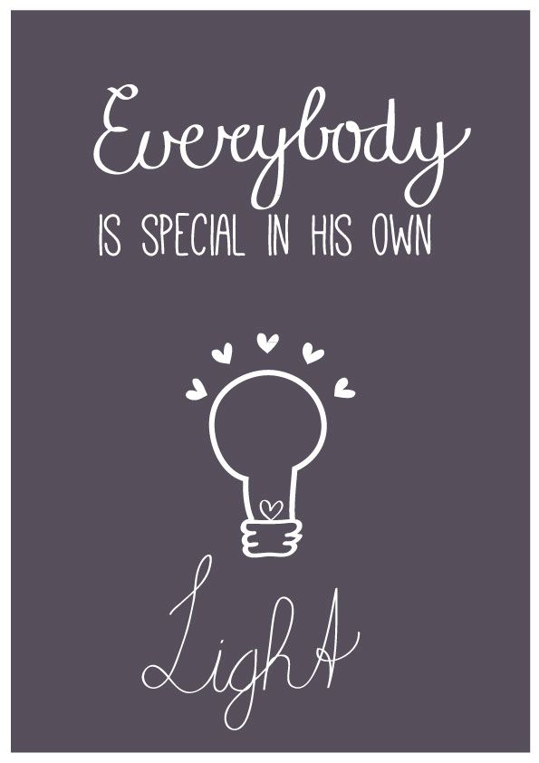Everybody is special   free printable   Nelleke Wouters   poster   quote
