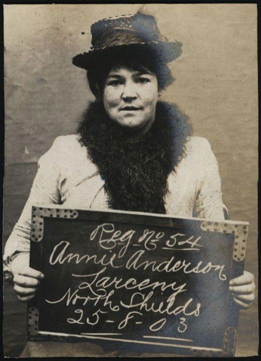 Criminal women of North Shields (1903-1904) ~