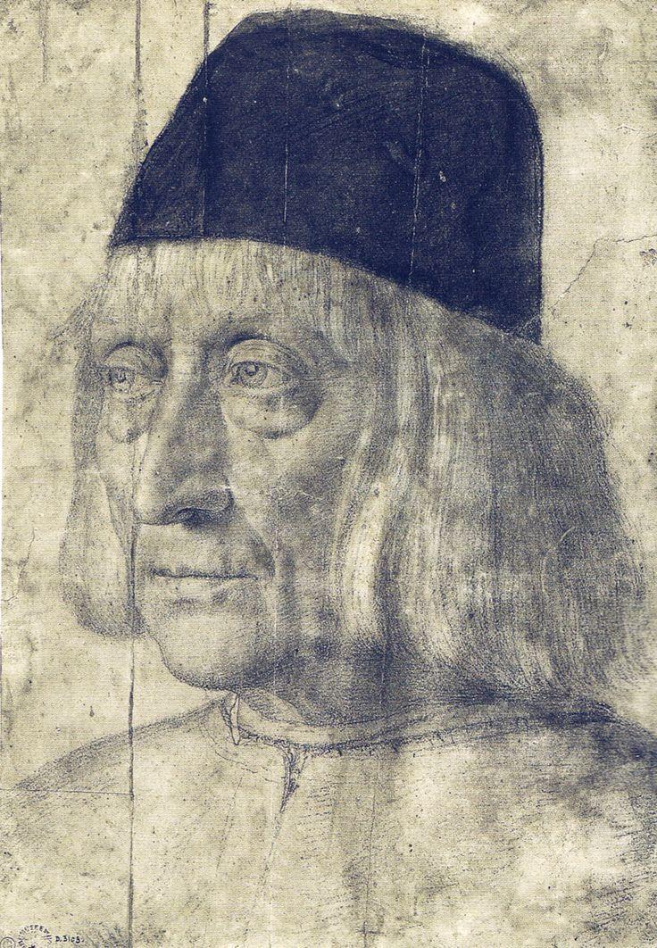 portrait of a man by Andrea Mantegna
