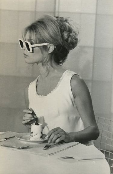 Brigitte Bardot wedding sunglasses                                                                                                                                                     More