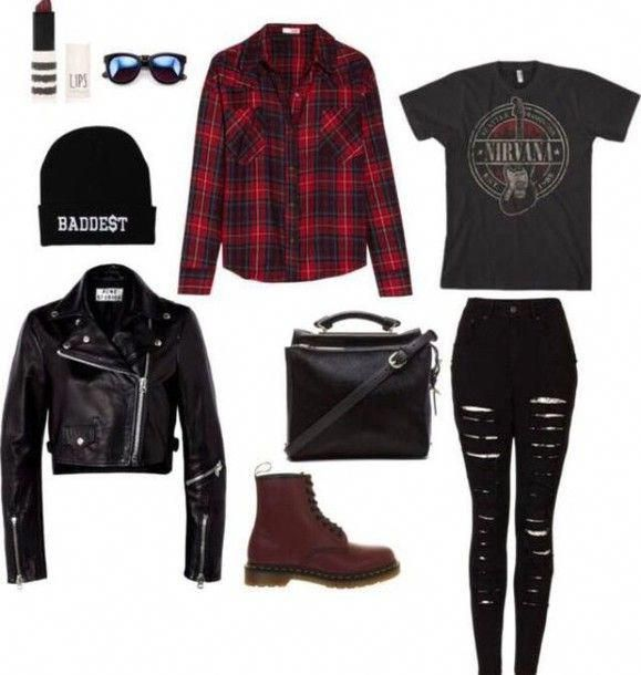 Add black chunky heeled boots and a leather studded backpack and round blacl sunglasses #MensFashionEdgy