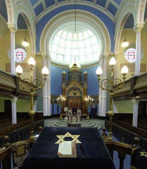 Garnethill Synagogue built 1879 Glasgow, Scotland.