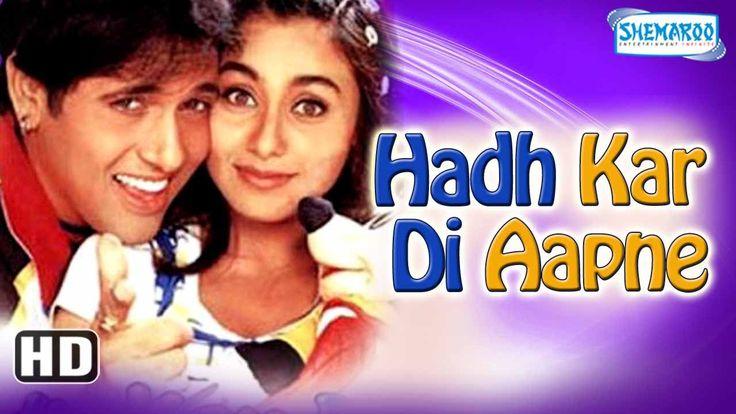Watch Hadh Kardi Aapne HD - Govinda - Rani Mukerji - Johnny Lever - Hindi Full Comedy Movie watch on  https://www.free123movies.net/watch-hadh-kardi-aapne-hd-govinda-rani-mukerji-johnny-lever-hindi-full-comedy-movie/