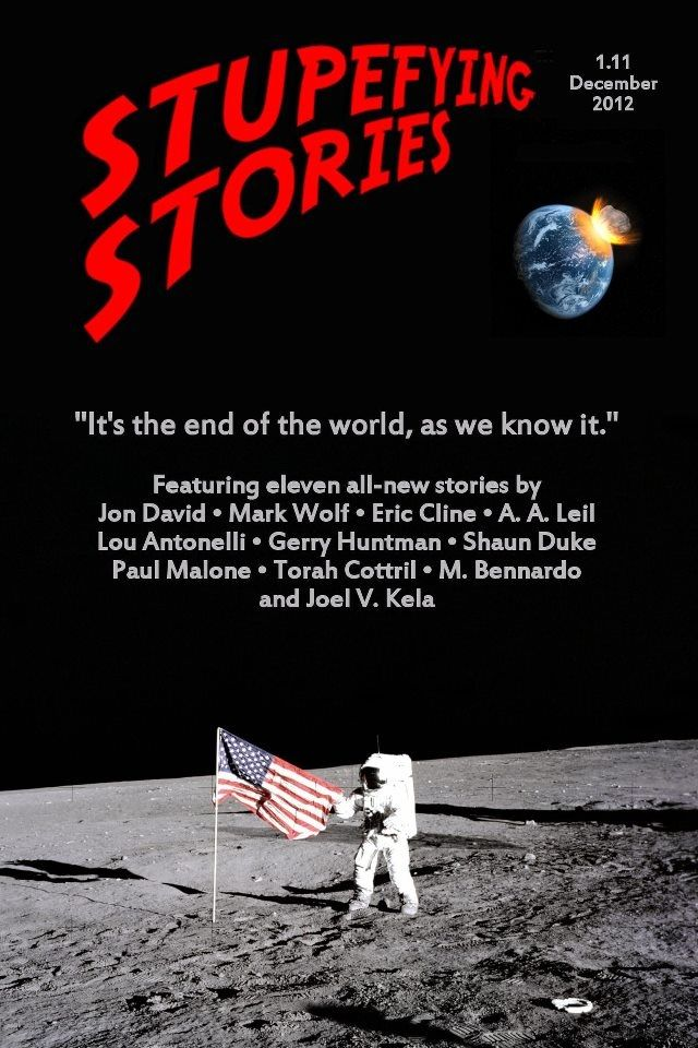 My scifi short story, Blue Stripped, appeared in Stupefying Stories 1.11