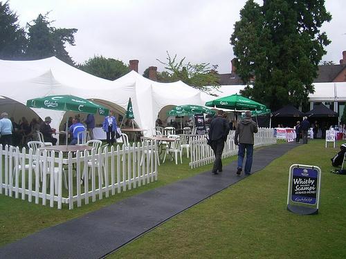 Walkovers at a Golf Championship