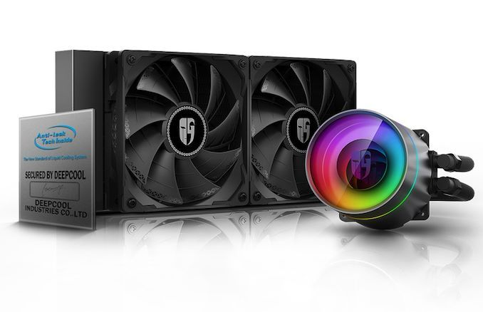 Deepcool Releases Castle 280ex Aio Cpu Cooler In 2020 Cooler Graphic Card New Technology