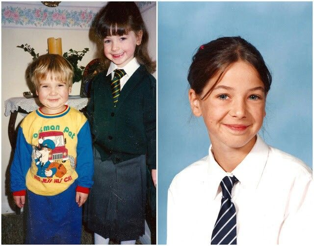 Young Zoella and Joe