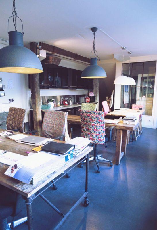 Les bureaux de My Little Paris, un vrai régal !