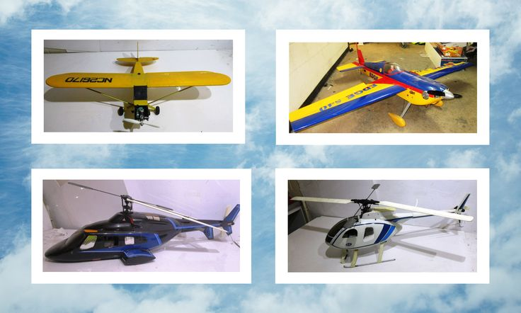 🛩️ U N R E S E R V E D 🛩️  Take a look at the Model RC Aircraft Collection Online Auction which includes planes, helicopters, remote controls and other other accessories