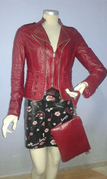 Giacche corte - giacca donna vera pelle - un prodotto unico di Smallville2 su DaWanda