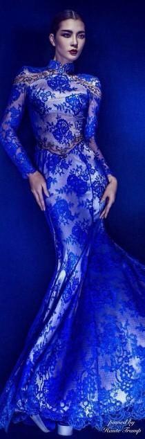 Vestidos azules hermosos ......