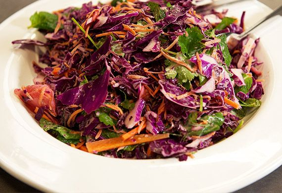 Continental's Mexican slaw