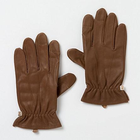 Men's leather work gloves. $15.96