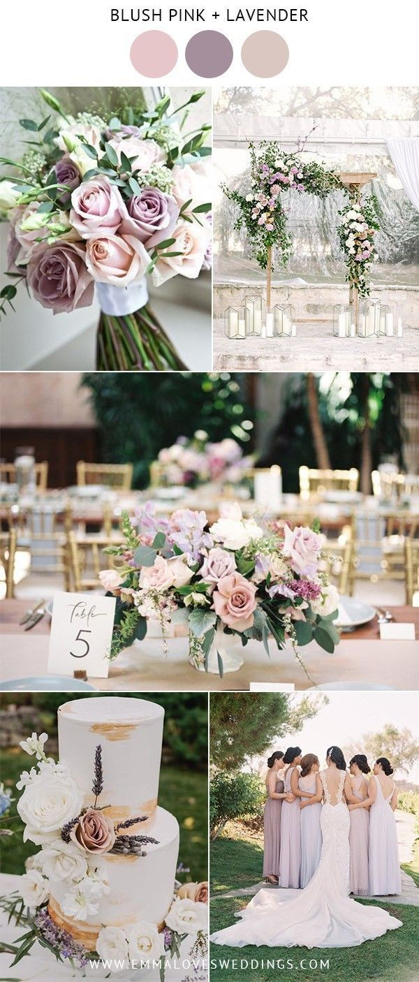 10 mooiste blos roze bruiloft kleurideeën voor lente en zomer