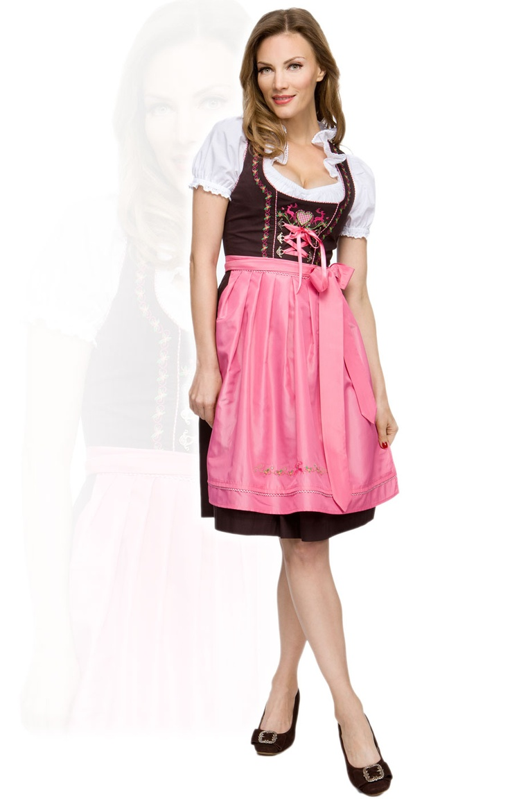 stockerpoint mididirndl 3tlg angel pink 60 cm dirndl. Black Bedroom Furniture Sets. Home Design Ideas