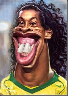Ronaldinho by Tónió