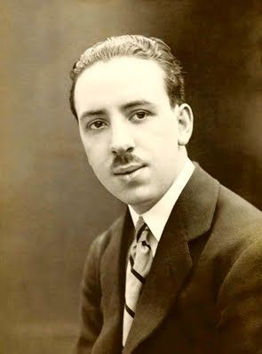 Alfred Hitchcock in 1920.