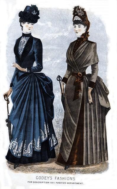 3598990127 50f7a92c2b 1884 Godey s Lady s Book Fashion Plate O