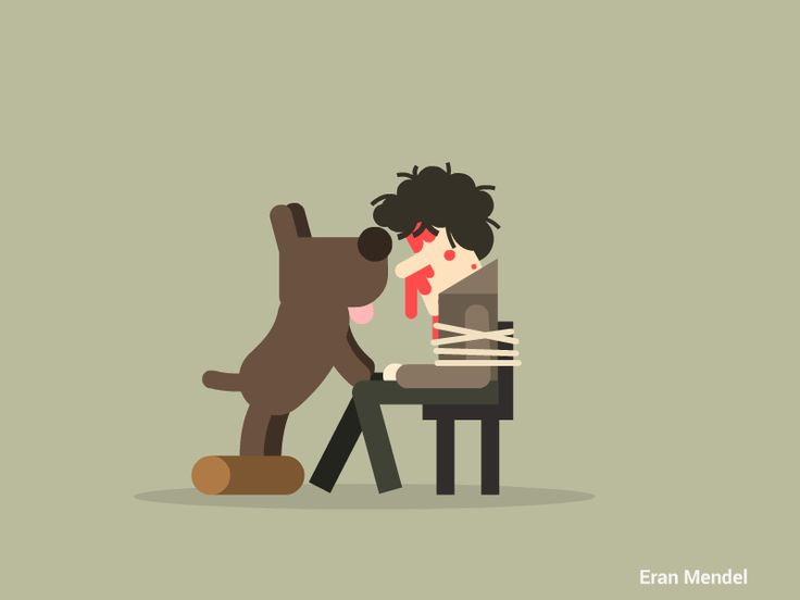 Game of Thrones GIFs. Eran Mandel's short scenes are so cute and so cruel at the same time.