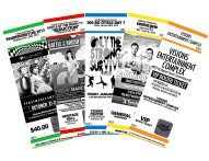 Custom Event Tickets #international #air #ticket http://tickets.remmont.com/custom-event-tickets-international-air-ticket/  Classic Custom Event Tickets myZone Printing takes care of your ticket printing needs so you can focus on preparing your next event. We print custom event tickets with advanced security (...Read More)