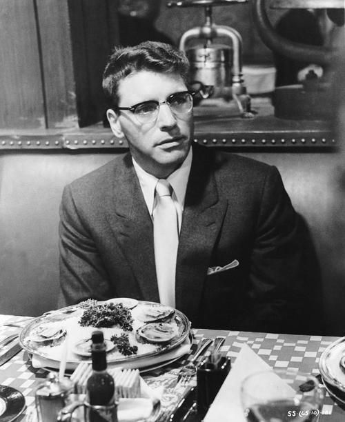 """Sweet Smell of Success:  Burt Lancaster (also a producer). + Tony Curtis. """"Match me, Sidney."""" Shot on location in New York in the late 50s, it gives the flavor of a Manhattan, now lost. MostWantedLA."""