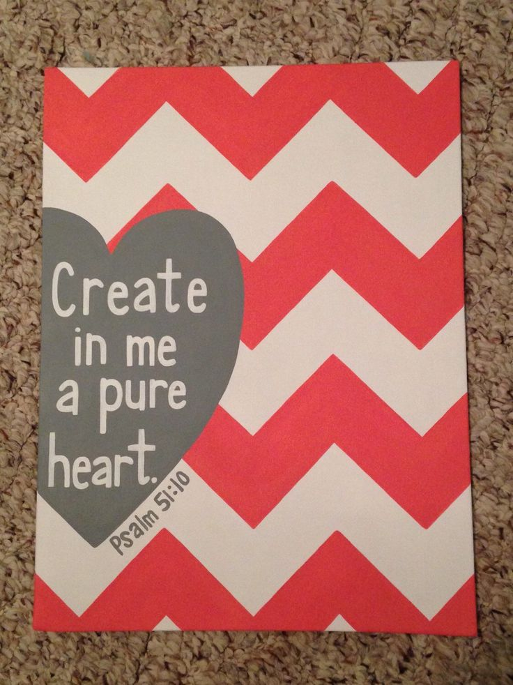 Scripture Canvas Psalm 51:10 by SweetCarolineBH on Etsy https://www.etsy.com/listing/229496668/scripture-canvas-psalm-5110