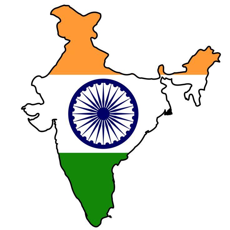 India Flag Map - Mapsof.net