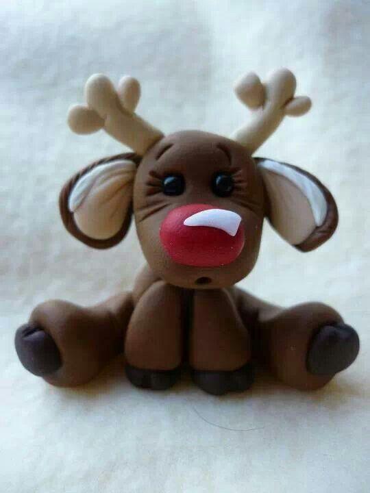 Rudolph domo also cute felt idea