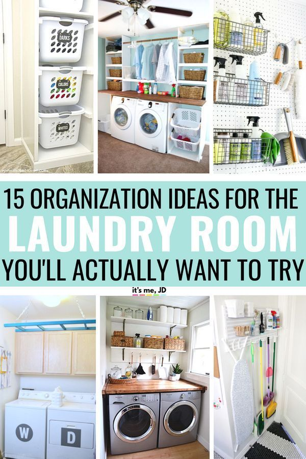 15 Clever Laundry Room Organization Ideas You Ll Actually Want To