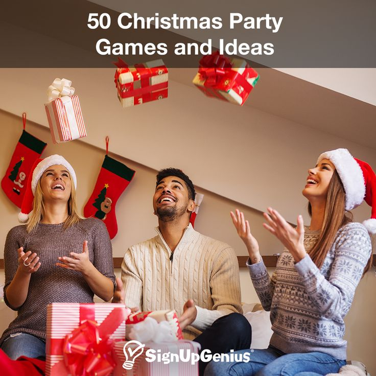 50 Christmas Party Games and Ideas. Entertain guests with these activities and party tips.