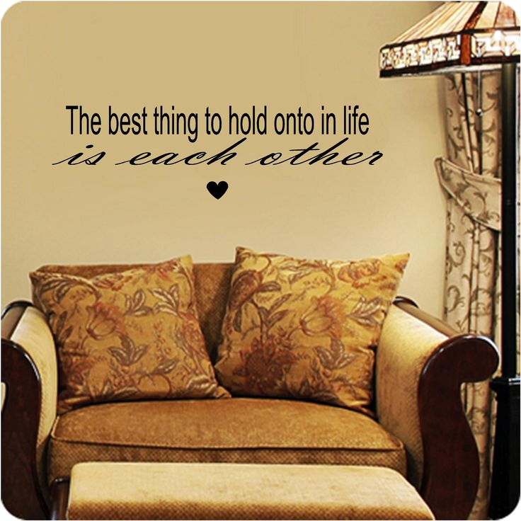 125 best Living room Vinyl Wall Art Custom vinyl wall decals, Stick ...