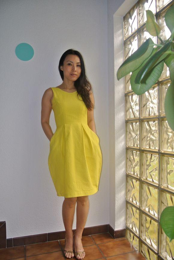 Yellow Elisalex dress