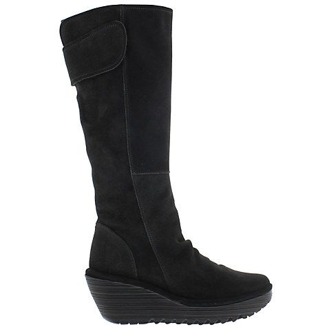 Buy Fly Yulo Knee High Boots, Diesel Online at johnlewis.com