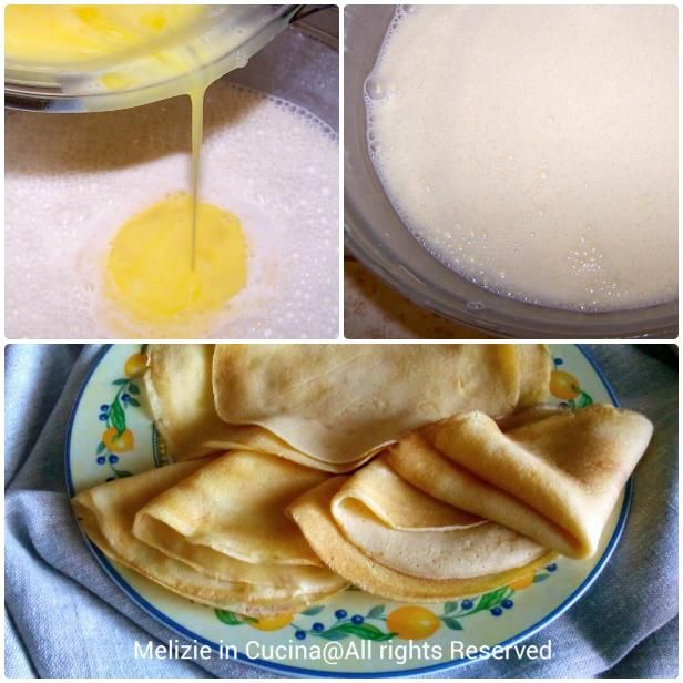 Crepes dolci o salate