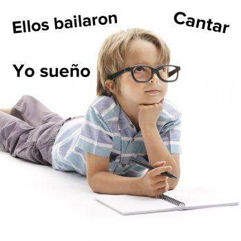 Cómo enseñar a conjugar los verbos a los niños.