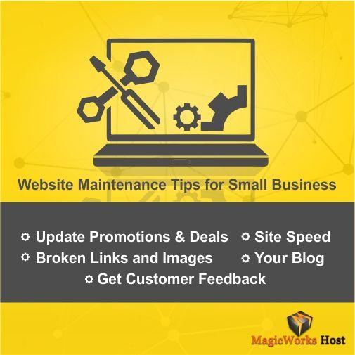 #webiste maintenance tips for #smallbusiness... Beginner's guide to #webHosting.... Looking for web hosting plans...log on to https://www.magicworkshost.com/buy-web-hosting.html