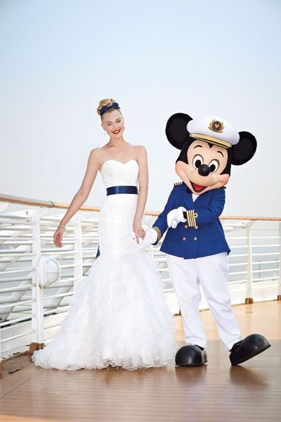 1000 ideas about disney wedding gowns on pinterest for Wedding dresses for cruise ship