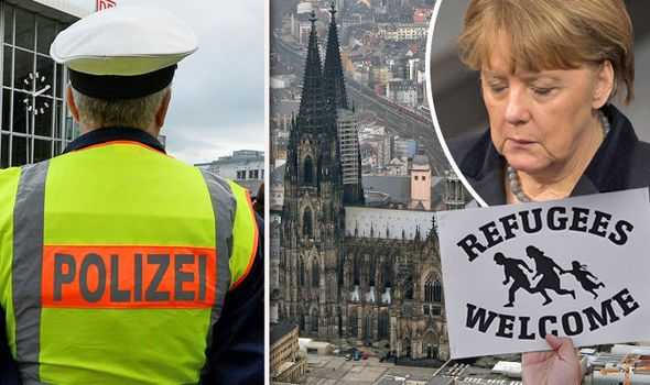FURY was growing in Germany tonight over mounting evidence of a cover-up of migrant sex crimes after it emerged a welcome party for refugees held two months before the Cologne rapes descended into a mass groping session.