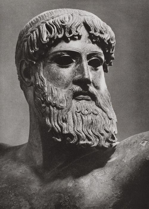 Ancient Greece. Poseidon, greek god of the sea