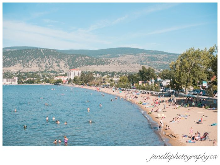 View of Okanagan Lake, from the Bow of the SS Sicamous (on the beach in Penticton, BC)