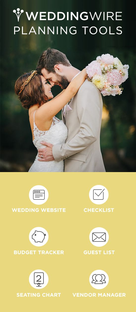 Plan the best day of your life, without any stress. Sign up for free planning tools!